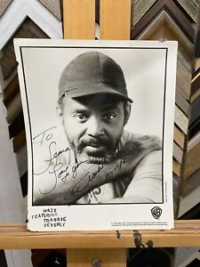 Maze Featuring Frankie Beverly Original Signed & Autographed Poster 1996