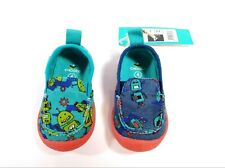 Chooze Boys Shoes Toddler Size 4  Robots Slip on Multicolor New