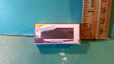 Barbie 1:6 Miniature Food Bakery Package Chocolate Loaf Cake NO REAL CAKE