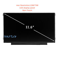 """11.6"""" Wxga Hd Lcd Led Screen Replacement For Hp Stream 11-Y Laptops 902900-001"""