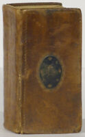 Thomas Baskett pocket Bible 1760 Oxford printer King James in solander