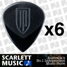 6 x John Petrucci Jazz 3 Ultex Black Guitar Picks 1.5mm Jazz III *NEW* 427PJP