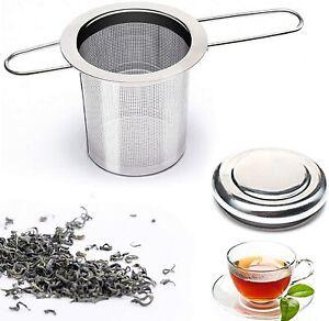 1 x Teeei Teesieb Teefilter Edelstahl Teenetz Rostfrei  für Tassen und Kannen