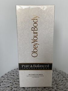 Obey Your Body Pure & Balanced Red Energy Eye Serum, New & Sealed