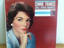 CONNIE   FRANCIS            LP     SINGS   JEWISH   FAVORITES