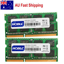 AU 8GB 2x4GB PC3-8500 DDR3-1066MHz SODIMM Memory RAM For MacBook Pro iMac Mini