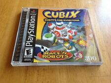 Cubix: Robots for Everyone -- Race 'N Robots  (Sony PlayStation 1, PS1, 2001)