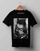 Vintage Eartha Kitt Catwoman Tee T Shirt Gildan Size S M L XL 2XL