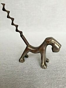 Art Deco 1933 Airedale Terrier Dog Corkscrew Collectable
