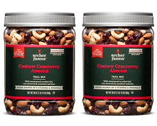 2Pk Archer Farms Cashew Cranberry & Almond Trail Mix 30oz ea