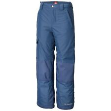 Columbia Youth Bugaboo II Pant in Blue  Size XL 81522