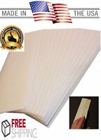 """50 Golf Grip Tape Strips Double Sided 2"""" x 10""""  Premium Easy Peel Made in USA"""