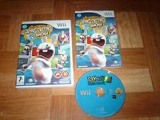 THE LAPINS CRETINS SHOW...jeu complet...sur Wii