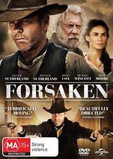 Forsaken (DVD, 2016) REGION: 2+4- NEW AND SEALED-FREE POST IN AUSTRALIA