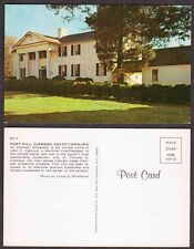 Old School Postcard - Clemson, South Carolina - Fort Hill
