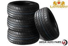 4X New Lionhart LH-FIVE 245/40R17 95W XL All Season Ultra High Performance Tires