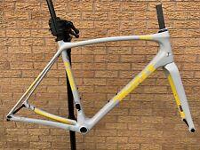 Milnes GRX freno de disco de carbono bicicleta de carretera de grava MARCO HORQUILLA marco Guardabarros ojos