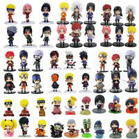 12pcs NARUTO Uchiha Itachi Sasuke Namikaze Minato Action Figure Model Anime Toy