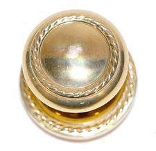 Baldwin Single Dummy Knob Brass Braided Design Reclaimed Door Hardware