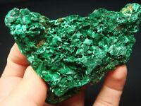 210g Superb Graceful Green MALACHITE Crystal Mineral Specimen