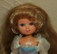 Vintage 1980's Mattel MAIDEN FAIRHAIR Doll Lady Lovely Locks w/ Dress