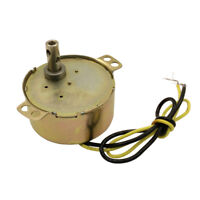 AC Synchronous Gear Motor 220-240V CW 8RPM 50/60HZ for Oven Small Fans