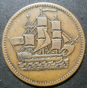 Canada token - Ships colonies & commerce - Prince Edward Island