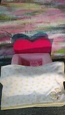 CARTER'S BLANKET BABY LOVEY WHITE YELLOW DUCK I LOVE MOMMY SECURITY JUST FOR YOU