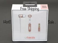 AUTHENTIC BEATS BY DR. DRE NEWEST MODEL URBEATS IN-EAR HEADPHONES - (ROSE GOLD).