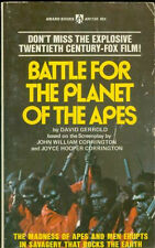 Battle For The Planet Of The Apes Movie Paperback 1973