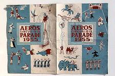 6826 ZIRKUS Programm AEROS Circus Eis Parade 1955