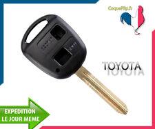 Coque Télécommande Plip Bouton TOYOTA Avensis Picnic Landcruiser + Cle vierge
