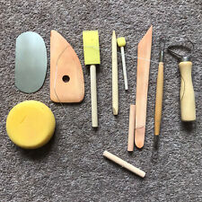 Sculptor's Wooden Tool Set, 10 Items