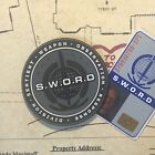 SWORD • AGENT OF SHIELD • SHOULDER PATCH • AGENT MONICA RAMBEAU COSPLAY MARVEL •
