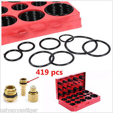 New 419 pcs Metric Universal O-Ring Oring Gasket Assortment Kit W/ Storage Case