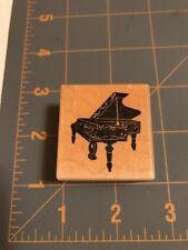 1988 PSX Rubber Stamp Baby Grand Piano C-192 Petaluma CA Musical Instrument