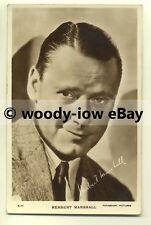 b1959 - Film Actor - Herbert Marshall - postcard
