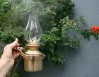 Vintage BRASS GIMBALLED SHIPS OIL LAMP-12 Photos-PRACTICAL DESIGN-L@@K !!