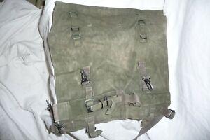 Army kit UK GB issue 58 pattern webbing poncho roll