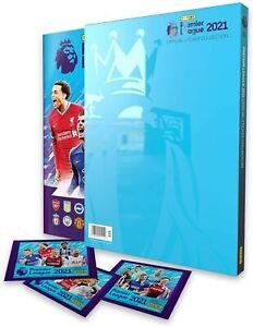 Panini Premier League 2021 Complete Set with Sealed Hardback Album