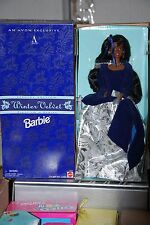 WINTER VELVET BARBIE DOLL, AVON EXCLUSIVE, SPECIAL EDITION, 15587, 1996, NRFB