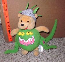 WINNIE POOH plush HALLOWEEN doll Disney stuffed animal AA Milne monster costume