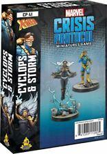 Marvel Crisis Protocol Miniatures Game Cyclops and Storm