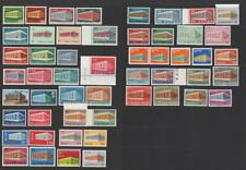More details for 1969 europa cept sets mnh. cat approx £165 as singles