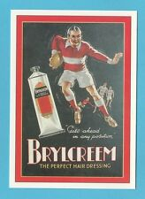 ROBERT  OPIE  ADVERTISING  POSTCARD  -  BRYLCREEM   (A)