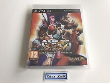 Super Street Fighter IV 4 - Sony PlayStation PS3 - FR - Neuf Sous Blister