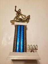 Womens Girls Softball Trophy 13 Inch Tall