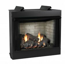 "Empire's Breckenridge Vent-Free Firebox Deluxe 36"" W/ Kennesaw 24"" Gas Log Set"