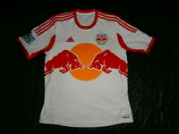 Red Bull New York City NYC Adidas JERSEY SZ: L MLS SOCCER FOOTBALL USA RARE