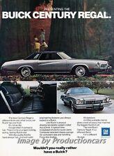 1973 Buick Century Regal - color - Classic Vintage Advertisement Ad H63